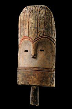 Mbole mask, D.R.Congo, 56 cm