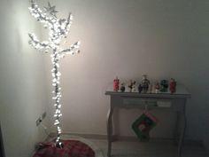 Y llegó la navidad, perchero y mesita de entrada
