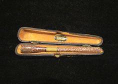 Vintage Bakelite Cigarette Holder Glitter Cigarette Holder Cecil Of London 1920s Cigarette Holder Complete With Original Case