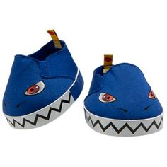 Build-A-Bear Workshop-United Kingdom: Blue Monster Shoes