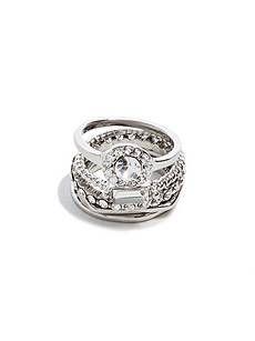 Grace Cubic Zirconia Ring Set  79a27e075c36