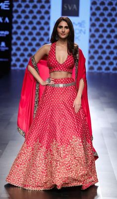 Showstopper red lehenga look for SVA Couture  Frugal2Fab Bridal Lehenga 8574aaab068