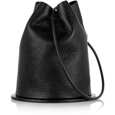 Finds + Building Block Disc textured-leather bucket bag, Women's (720 PEN) ❤ liked on Polyvore featuring bags, handbags, shoulder bags, purses, accessories, backpacks, bucket bags, bucket shoulder bag, bucket bag backpack and shoulder strap handbags