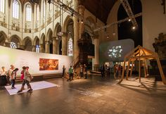 How to create an exhibition in a church: space, decor, build from scratch.