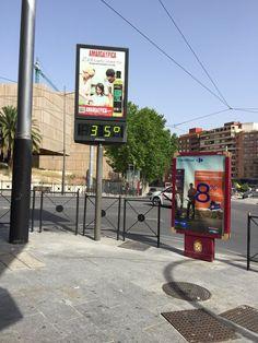 Aviso naranja por máximas de 41 grados, para hoy, en el valle del Guadalquivir en Jaén