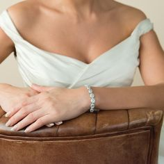 Aye Do Ltd - Bloomsbury Wedding Bracelet (ic), £74.99 (http://www.ayedoweddings.co.uk/bloomsbury-wedding-bracelet-ic/)