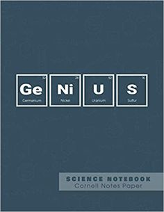 Genius - Science Notebook - Cornell Notes Paper: Funny Periodic Table Joke - Chemestry - Cornell Method Notebook: Ashley's Funny Periodic Table Joke Cornell Notebooks: 9781081710118: Amazon.com: Books Cornell Notebook, Cornell Notes, Science Notebooks, Note Paper, Periodic Table, Jokes, Amazon, Funny, Periodic Table Chart