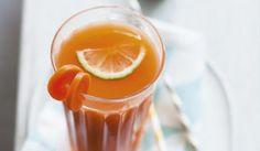 Jus de légumes detox, carotte, fenouil, citron vert #recette #boisson #facile
