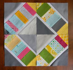 I've been working on a quilt for a publication. Writing patterns  requires a lot of precision and some math, so for a change of pace I  tur...