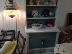 Neat shabby cupboard