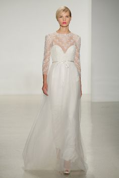 Amsale Fall 2014 Bridal. Image: Getty.