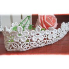 10 Yards Cotton and Venise Floral Embroidered Cluny Lace Trim Fabric Ribbon For Garment Wedding Accessory Home Decor DIY Craft Supply 1 Wide In White >>> Check this awesome item by going to the link at the image. Sewing Lace, Love Sewing, Fabric Ribbon, Girls Tees, Cool Items, Wedding Accessories, Lace Trim, Discount Purses, Discount Uggs