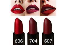 Womens Makeup Lipsticks Korean Style Moisturizer Long Lasting Waterproof Lipstick Sexy Lip Glosses for Ladies Girls