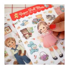 Paper Doll Mate Stickers (◕ᴥ◕) Kawaii Panda - Making Life Cuter