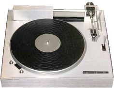 Harmon-Kardon ST-7 turntable had the superb Rabco straight line tracking tonearm. Despite its tendency to be a bit touchy, I use mine for archival re-recording of LPs and 45-rpm discs onto tapes or transferred to digital. Spectacular sound, the equal of any modern audiophile turntable.