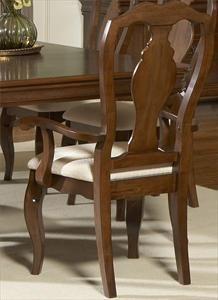 Nebraska Furniture Mart Liberty Slat Back Arm Chair Dining Room