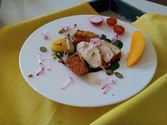 Czary w kuchni- prosto, smacznie, spektakularnie.: Wiosenny kurczak z ziemniakami na oleju kokosowym Tasty, Meat, Chicken, Kitchen, Food, Cuisine, Meal, Eten, Home Kitchens