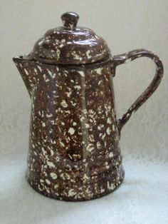 Stangle #RoyalCumberland Terra Cotta Coffee Pot #RoyalCopenhagen