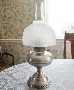 1905 antique rayo oil kerosene lamp nickle plated w white milk glass antique rayo 1905 nickle plated oil kerosene lamp center draft 21 total mozeypictures Choice Image