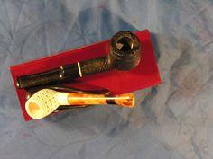 Pipa artigianale radica + pipa in schiuma