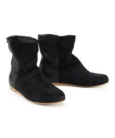 Black Macedon Suede Boot - Women by EMU Australia #zulily #zulilyfinds