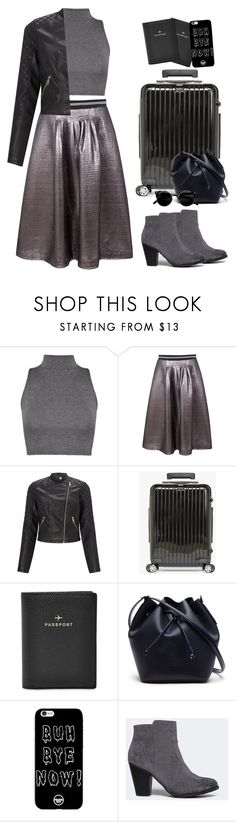 """""""Off I go"""" by heba-j ❤ liked on Polyvore featuring Markus Lupfer, Lipsy, Salsa, FOSSIL, Lacoste and Breckelle's"""
