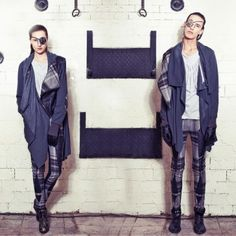 CHAO coat with check | klu