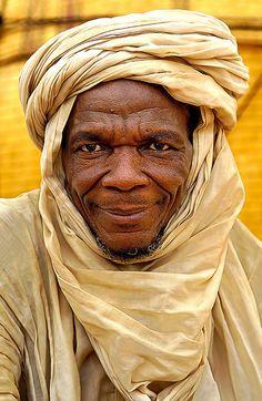 Africa | Portrait of a man from Burkina Faso | ©Sergio Pessolano