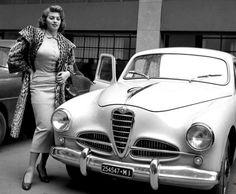 Alfa 1900 & Sophia Loren