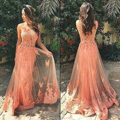 applique prom dress,gorgeous evening dresses,charming prom dresses#promdresses #simibridal