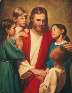 Christ died for us All. It doesn't matter what colour skin we have we are all welcome at his table.