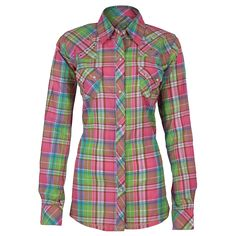 Western Shirts For Women | rock 47 by wrangler women s plaid western shirt product under shirts