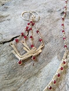 Burgundy Spring Art Nouveau Inspired by SweetMintBoutique on Etsy, $138.00