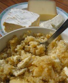Gratin de quinoa jambon-fromage