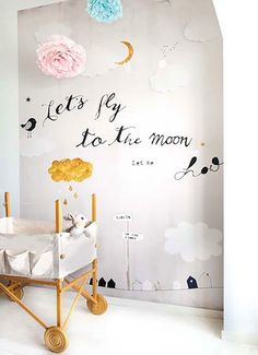 tDecorating a Child's Bedroom #DecoratingIdeasForKidsRoomschildsbedroomchildren