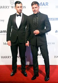 Ricky Martin Makes It Red Carpet Official With Really Hot New BF
