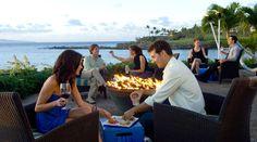 Merriman's Kapalua serves excellent Hawaiian regional cuisine... in the most AMAZING location.