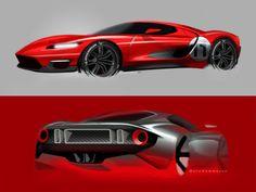 Ford GT Exterior & Detail Design