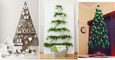 ¿Te gusta la Navidad pero este año quieres una decoración más original? Empieza por el árbol, estas son algunas ideas. Xmas, Christmas Tree, Christmas Decorations, Holiday Decor, My Dream Home, Home Decor, Advent, Purse, Holiday Ornaments