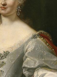 Maria- Amalia of saxony, Queen of naples by Giuseppe Bonito