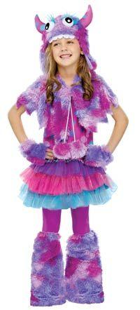 Polka Dot Monster Girls Costume - Halloween Costumes