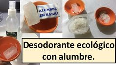 Cómo hacer desodorante natural Things To Do, Soap, Personal Care, Bottle, Health, Blog, Youtube, Diy Deodorant, Home Made Soap