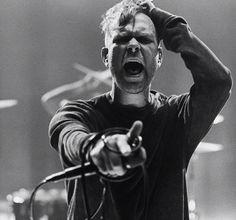 "Bert McCracken on the set of the ""cry"" music video photo by Ryan Muirhead"