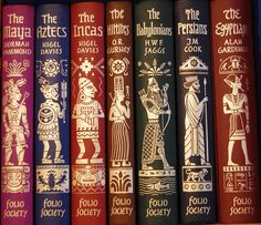 wish I had these! from: http://www.foliosociety.com/book/BZA7/empires-of-the-ancient-world