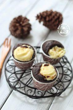 Nasi Lemak Lover: Wacky cheese cupcakes 巧克力芝士小蛋糕