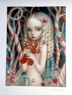 Limited Edition Print and Original Fine Art Release Store. Mark Ryden, Audrey Kawasaki, Creepy Art, Weird Art, Arte Lowbrow, Pop Art, Arte Horror, Whimsical Art, Surreal Art