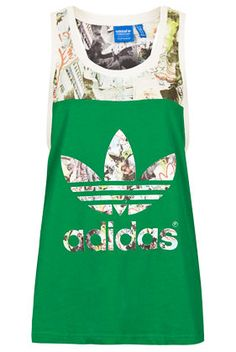 8fc6fbe5853   Printed Vest by Topshop x adidas Originals - Topshop x adidas Originals -  Clothing - Topshop USA