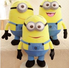Minions Despicable ME 2 Plush Toy 20 Inch Minions Toys & Hobbies One PCS lovely  #MinionsDespicableChina