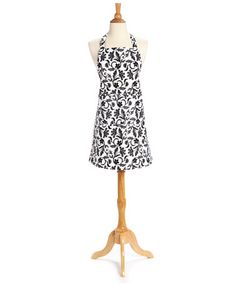 This Black Cameo Apron - Adult is perfect! #zulilyfinds. $14.99