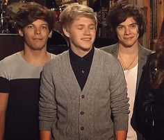Louis Niall and Harry